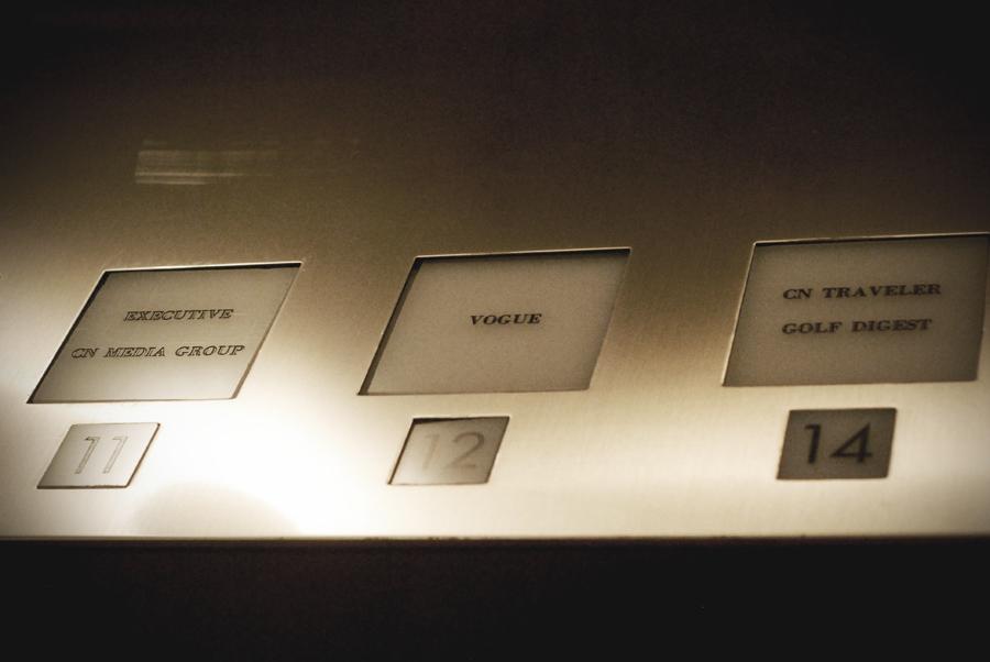 CondeNast Elevator