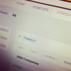 AngelList Fashion Startups
