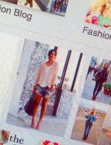 Fashion Bloggers google result