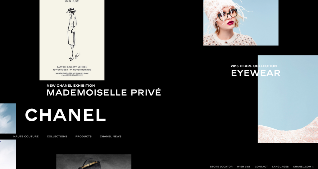 Chanel website