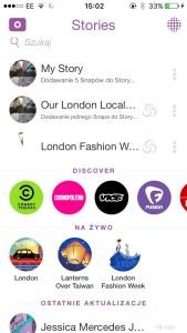 LFW Snapchat Printscreen