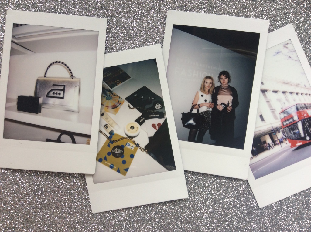 London Fashion Week - polaroids
