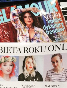 Kobieta Roku Glamour - Woman of the Year Glamour - Kasia Gola nomination
