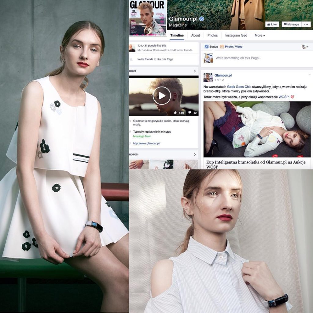 Glamour Poland 2015 - wearables for good