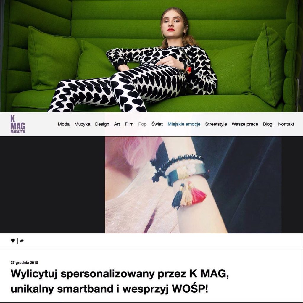 K MAG - wearables for good
