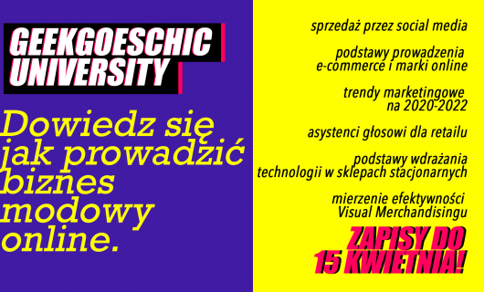 Learn how to run fashion business online with GeekGoesChic University